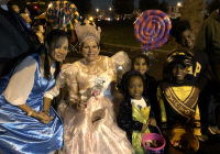 October 31, 2019: Senator Tartaglione and her staff celebrated Halloween with thousands of children at the second annual 25th Police District Trunk or Treat in Hunting Park.