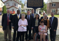 September 12, 2019: Senator Tartaglione helps to dedicate Anna T. Jeanes Historical Marker.