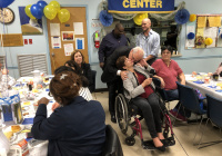 "October 18, 2019:  Senator Tartaglione helped the Peter Bressi Northeast Senior Center celebrate its 35th anniversary in a big way on Friday as she announced that the center has been awarded a $100,000 grant from the state to grow its programming for seniors in the Frankford section of Philadelphia.  ""This is for all the hard work that you do with such little money,"" Senator Tartaglione told dozens of the center's members during their anniversary lunch. ""And you try to expand your services. So this is truly my pleasure."""