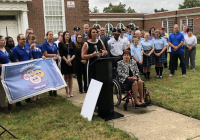 September 13, 2019: Senator Tartaglione announces state grant to support new PAL Center, Kinder Academy at historic Trinity Church site.