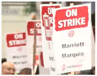 Marriott Workers Strike