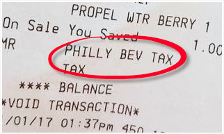 Philly Beverage Tax