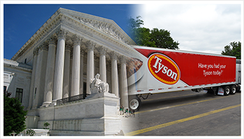 Supreme Court and Tyson Foods