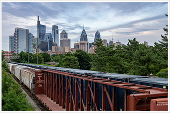 Train in Philly