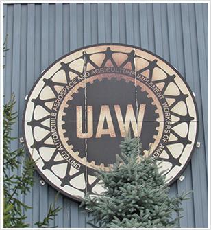 The UAW emblem