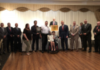 September 8, 2019: Senator Tartaglione honored hero Philadelphia Fire Fighters and Paramedics at the annual Local 22 Recognition Day.