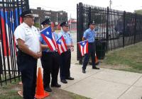 September 16, 2019: Senator Tartaglione attends Puerto Rican flag raising ceremony at Antonia Pantoja Charter School.