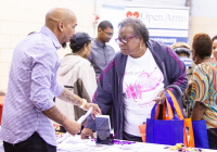 October 3, 2019:  Hundreds of Northeast Philadelphia-area senior citizens and their caregivers joined State Senator Christine M. Tartaglione for her Senior Expo today as she brought the annual event series to the Lawncrest Recreation Center for the first time in its more than 20-year history. Eager attendees collected valuable information from more than 50 vendors about topics ranging from health care to financial services to crime prevention.