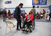 April 1, 2021: Senator Tartaglione hosts Free Vaccine Pop-Up Clinic
