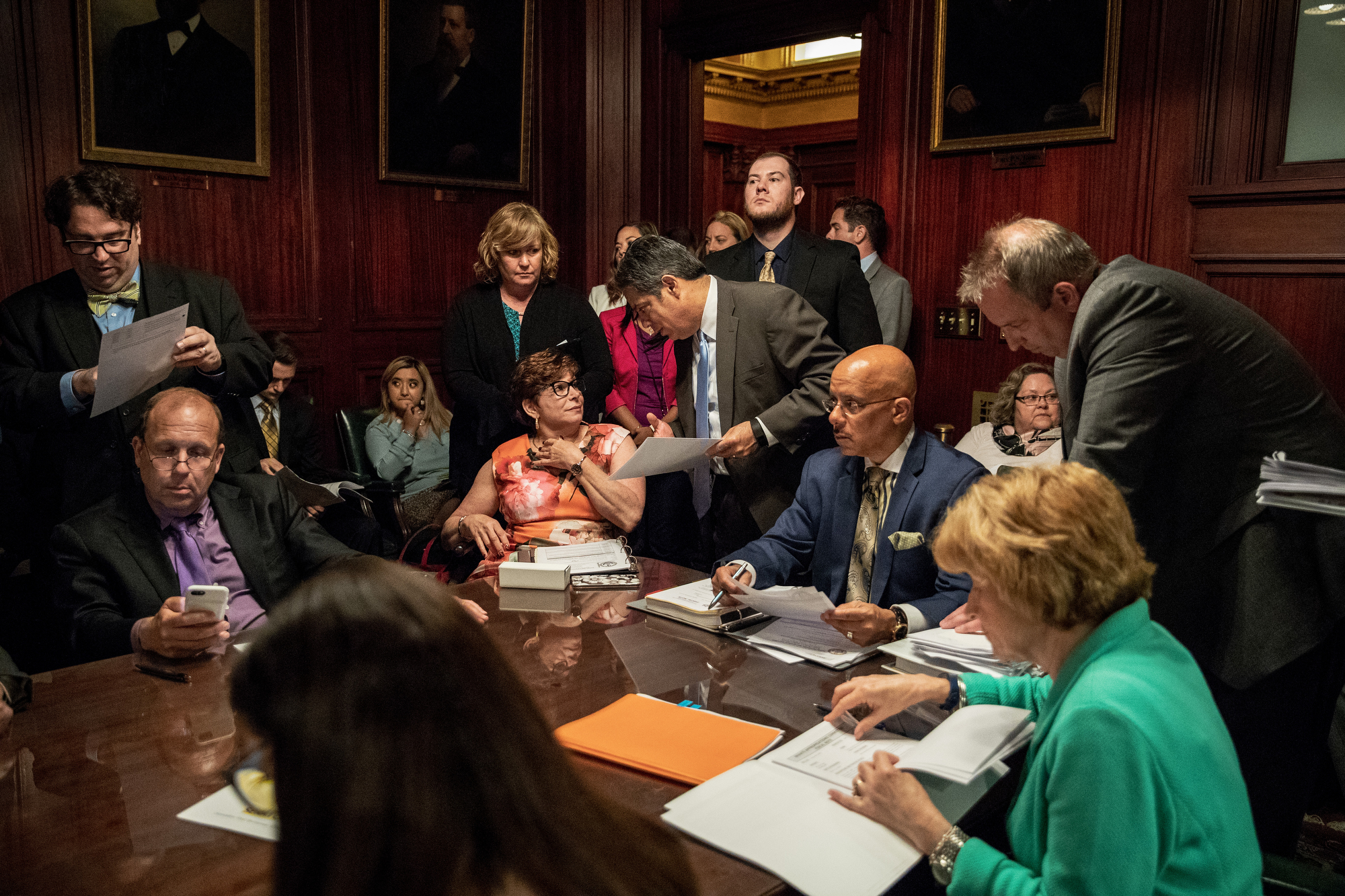 Off the floor Senate Appropriations Committee Meeting