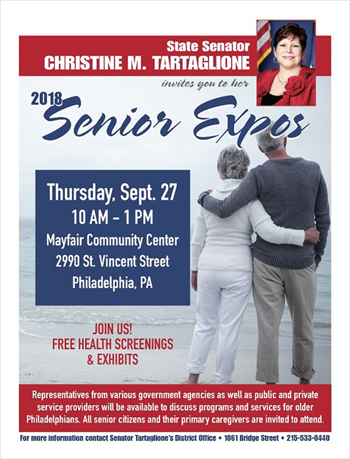Senior Expo- September 27, 2018