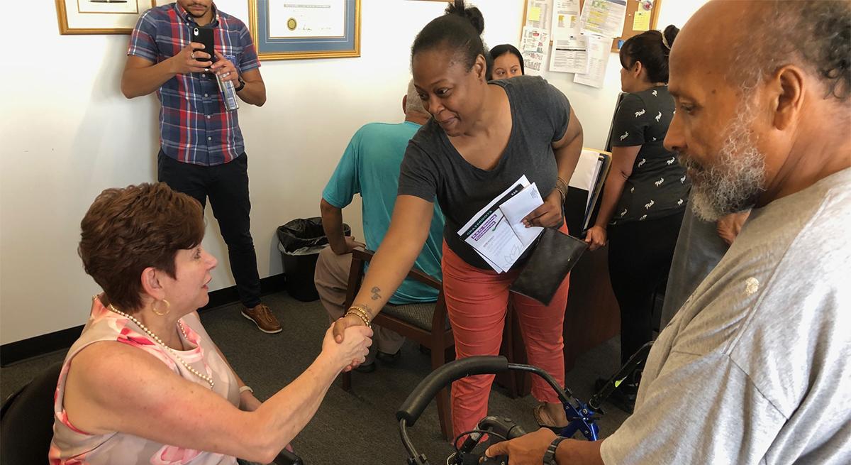 Senator Tartaglione, Representative Cruz Help Dozens of Constituents Learn About PA's Medical Marijuana Program