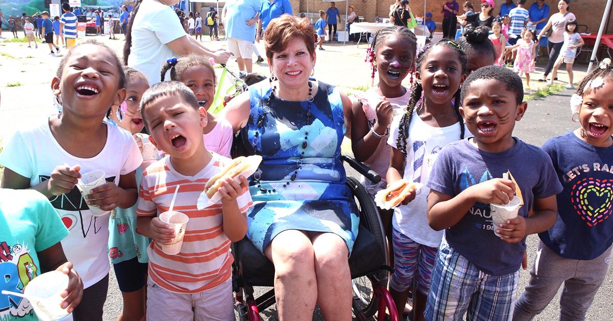 Senator Christine Tartaglione Brings Backpacks, Family Fun to Lawncrest with Her Annual Community Picnic