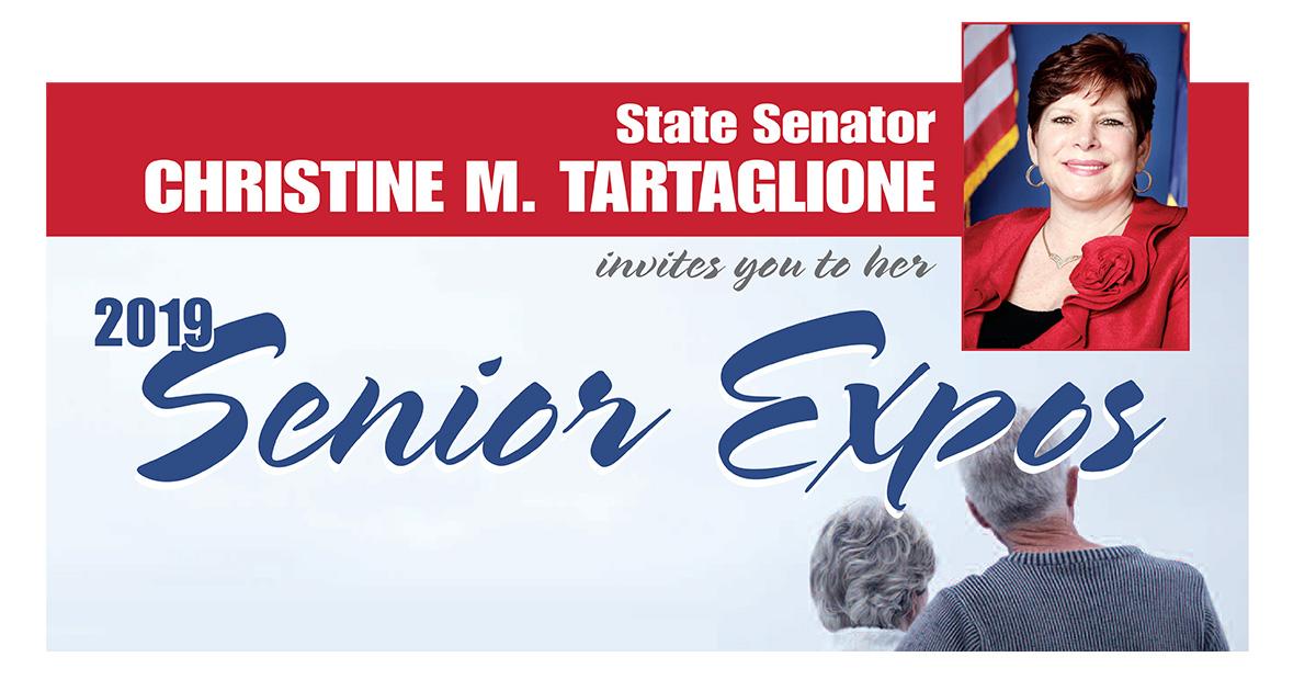 Senator Tartaglione Invites Older Adults and their Caregivers to her Three Annual Senior Expos