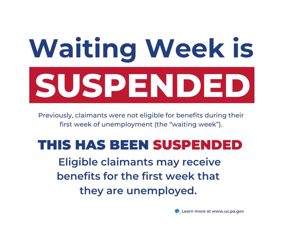 Waiting Week is Suspended