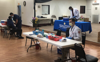 Sen. Tartaglione Brings COVID Vaccine Clinic to Frankford
